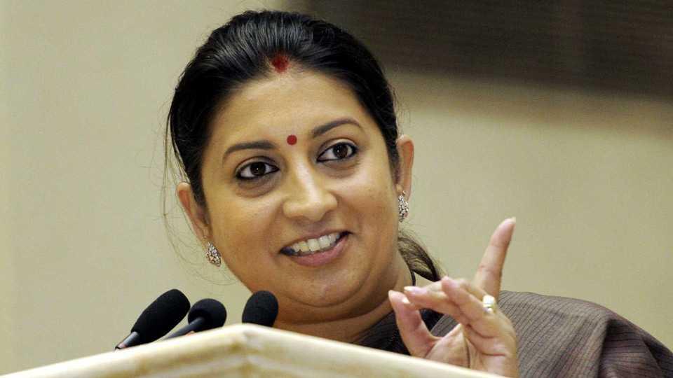 Smriti Irani Criticizes Rahul Gandhi on GST issue