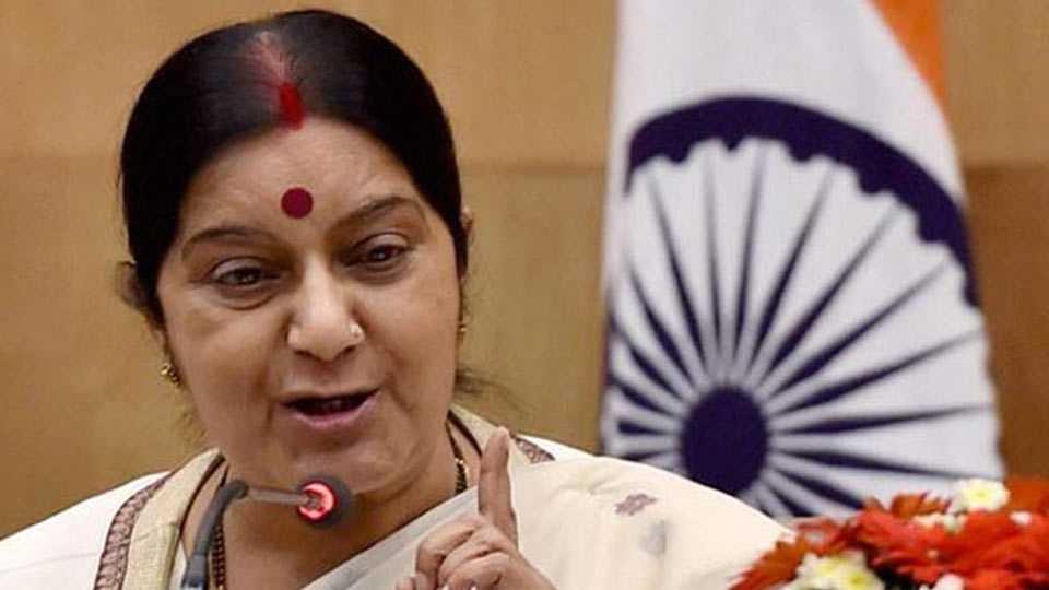 Swaraj tour on Africa
