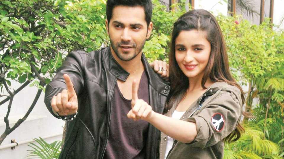 Varun and alia song launch bhikari esakal news