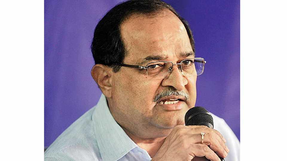Nanar Agitation Means BJP Shivsenas Match Fixing Says Vikhe Patil