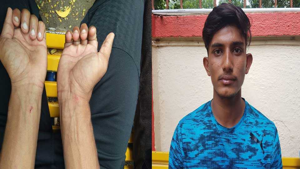 Youth player assaulted by traffic police
