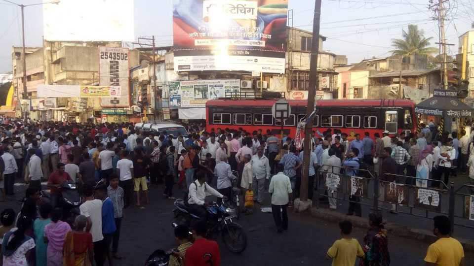 kolhapur bus accident