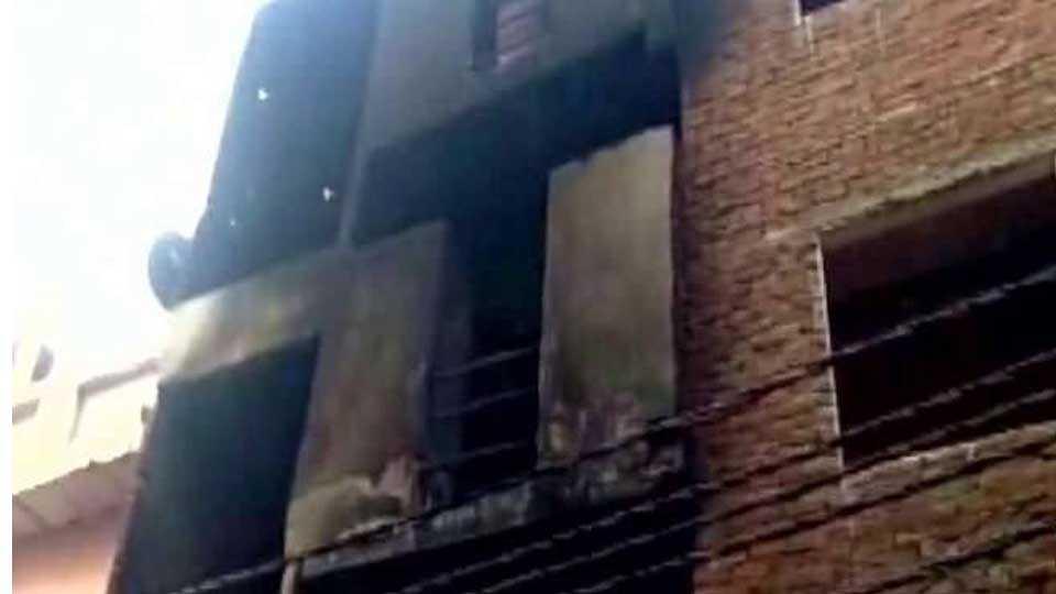 gaziabad fire
