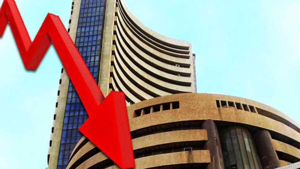 Sensex down 200 points