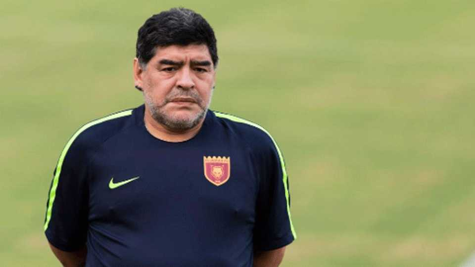 Maradona writes about Germany
