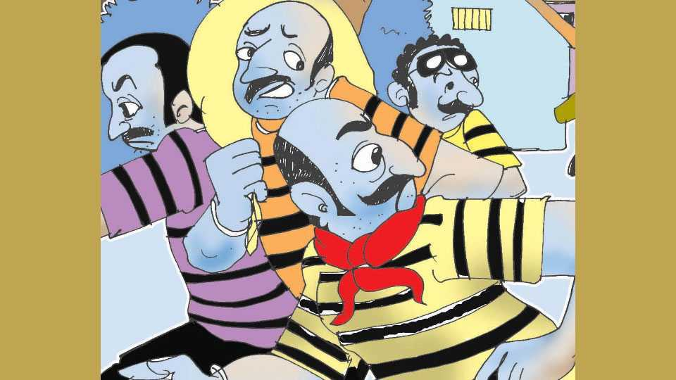 Three lakh stole at nanded