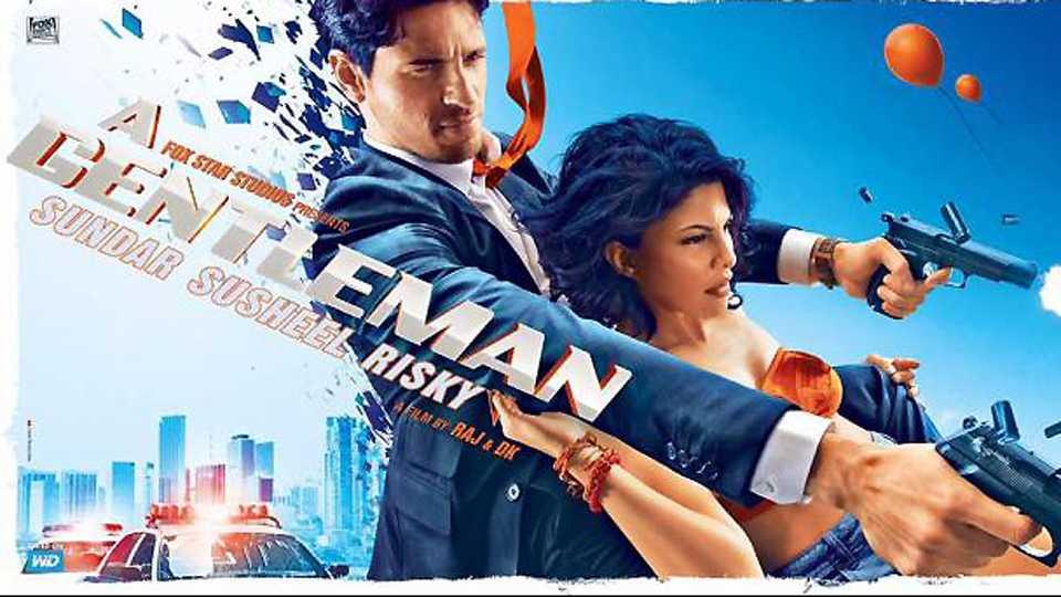 A Gentleman posters: Sidharth Malhotra,