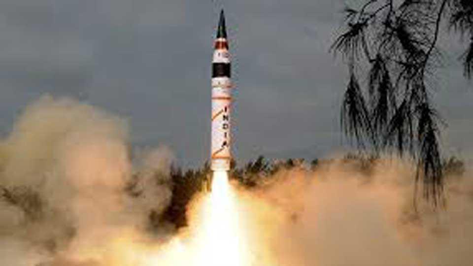 India successfully test fire Agni 5