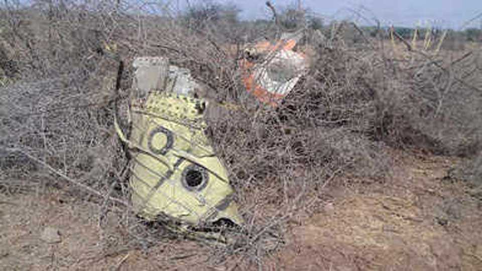 IAF fighter jet crashes in Gujarats Kutch pilot killed