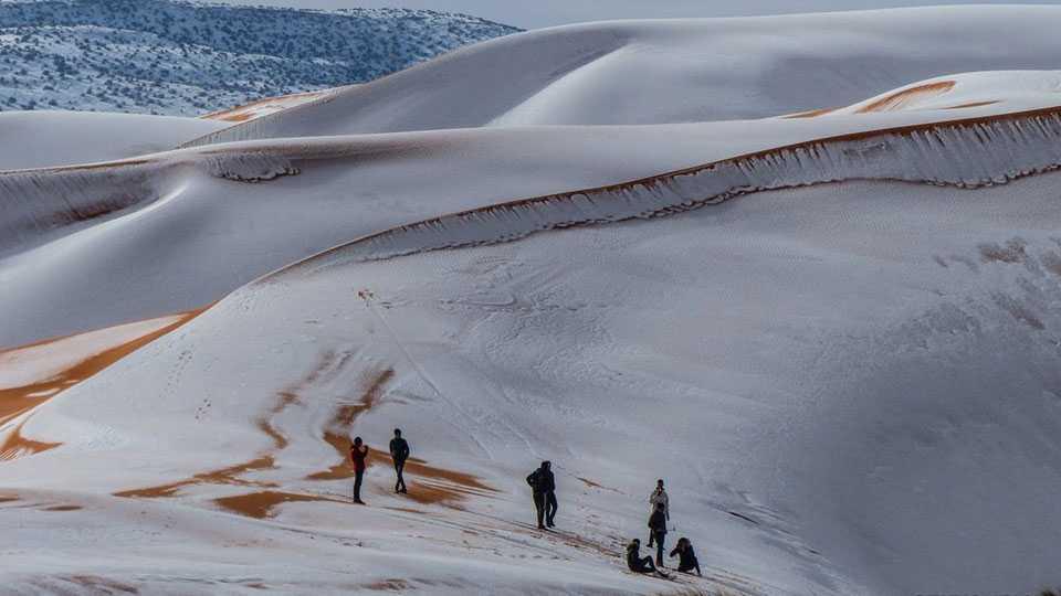 Algeria-SNow