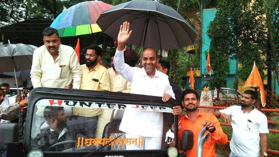 Shiv Sena's saffron flag will be thrown on Pali Nagar Panchayat - Anant Gite