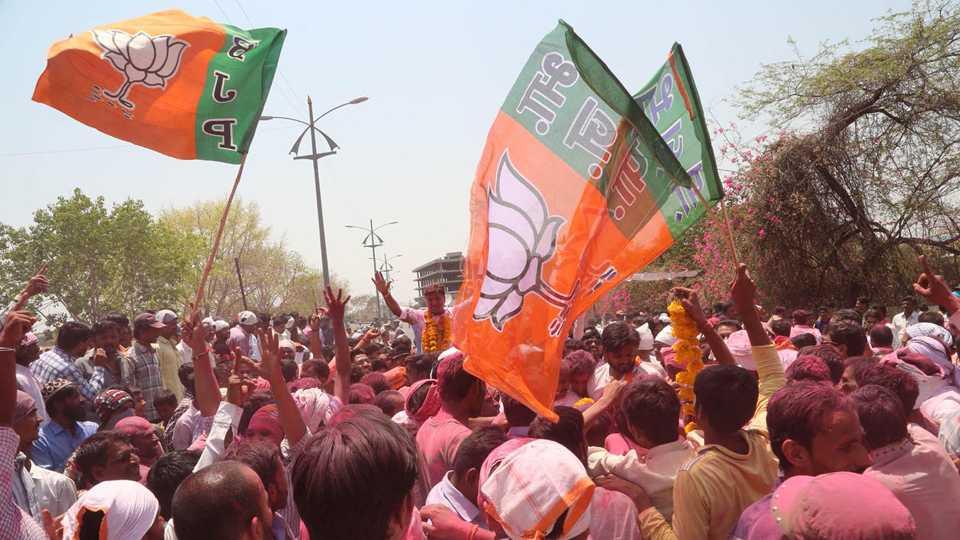 File photo of BJP Celebration