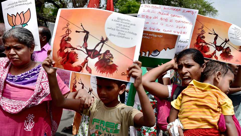 Protests against Beef Ban