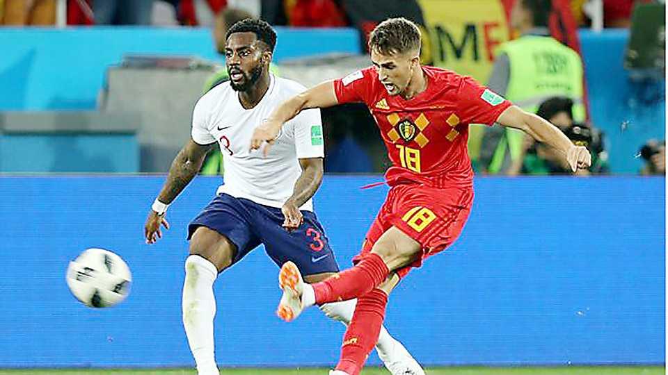 Beljium vs England Football world cup