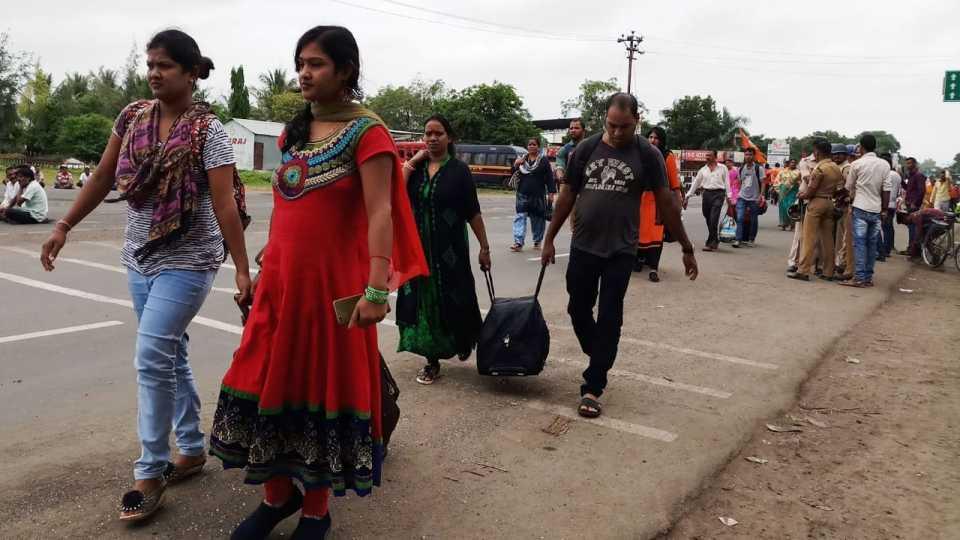 Maratha Kranti Morcha Maharashtra Bandh Sai Followers is in Difficulties