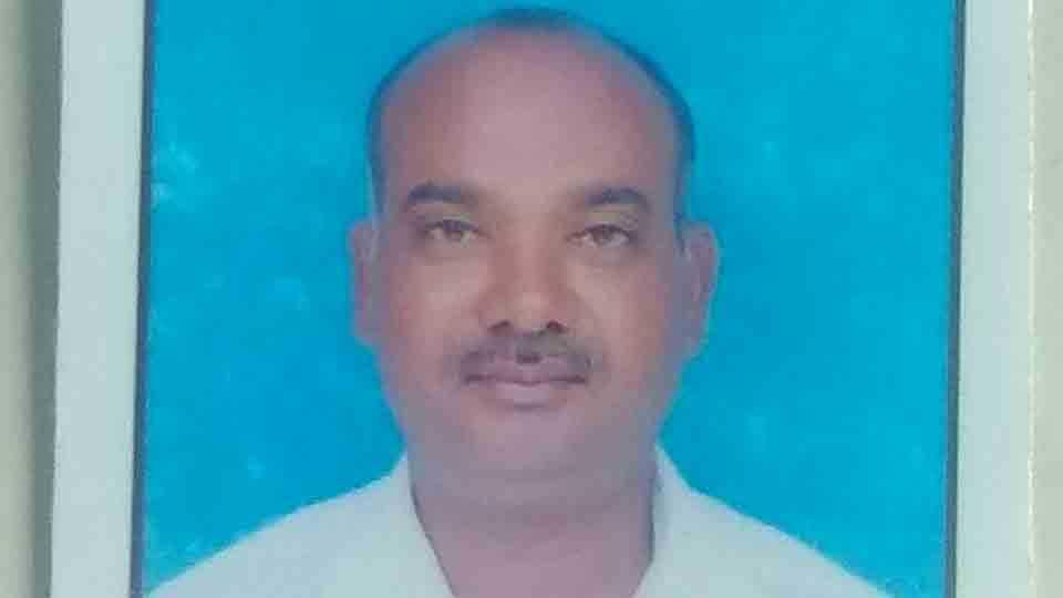 Secondary teacher Rajkumar Wagh passes away