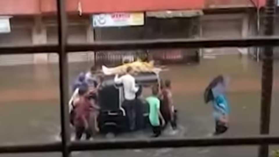 viral satya dead body on auto video