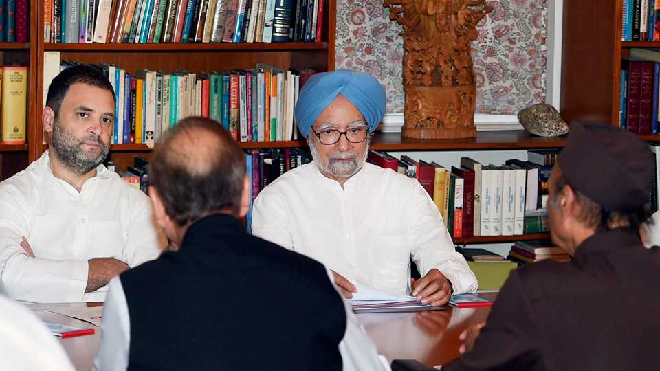 Rahul Gandhi Manmohan Singh
