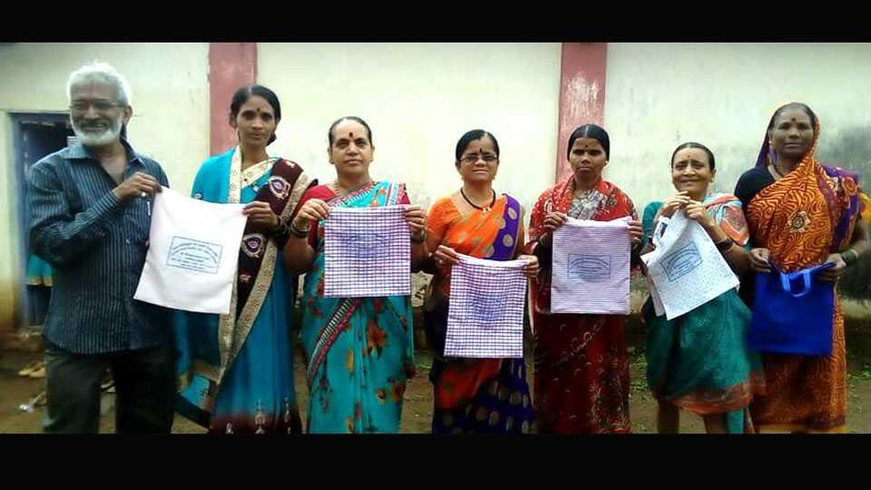 45 Thousand Cotton Bags Free Distribution by Vishwas Gofan
