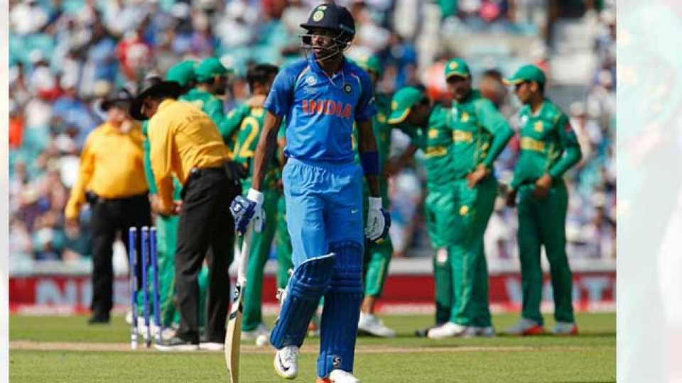 cricket news india lose pakistan won champions trophy