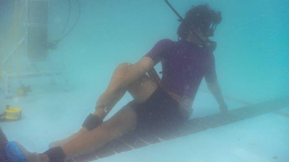 Under Water Yoga