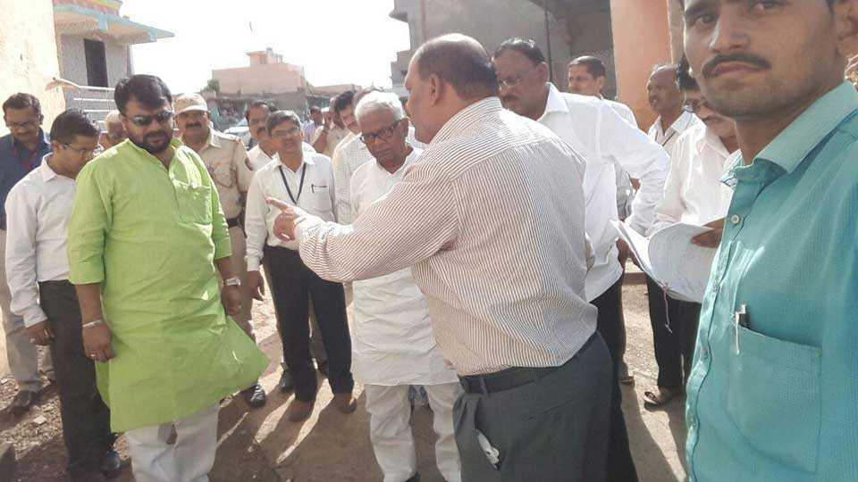 dhule news ner news panchayatraj samiti marathi news sakal news