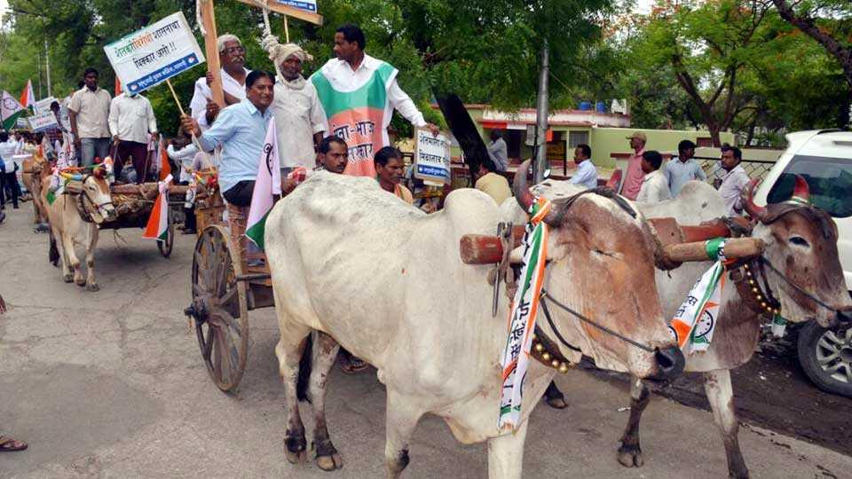 marathi news parbhani news farmer strike marathawada news