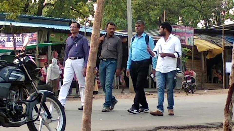 Demand for action on Village Development Officer Waghmare