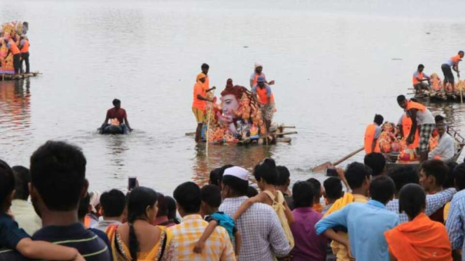 Marathi news at least 9 drowned in Maharashtra during Ganesh immersion