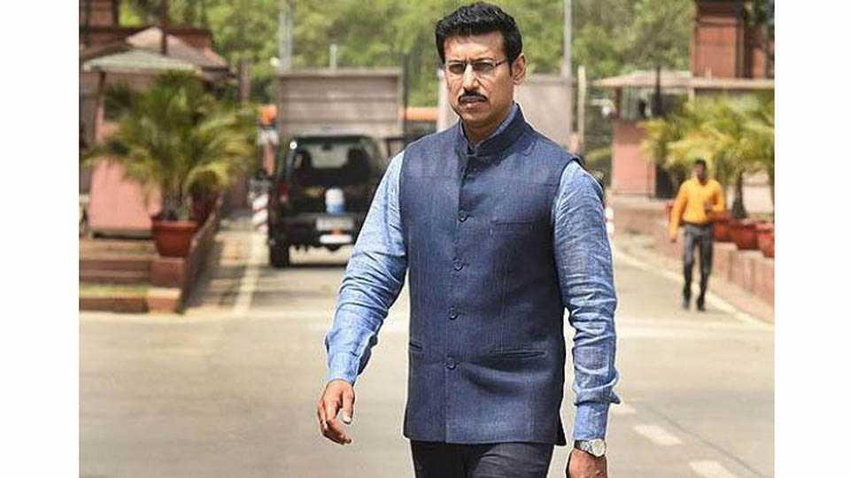 Rajvardhan Rathores Hum Fit Toh India Fit Campaign