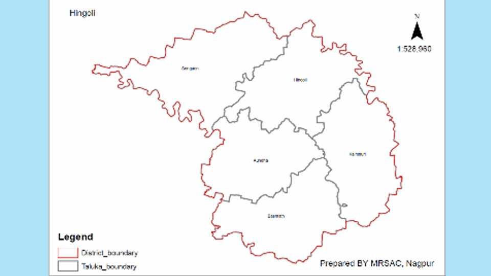 Hingoli Map
