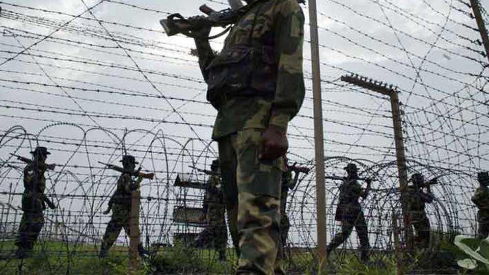ceasfire violation jammu news marathi news sakal news