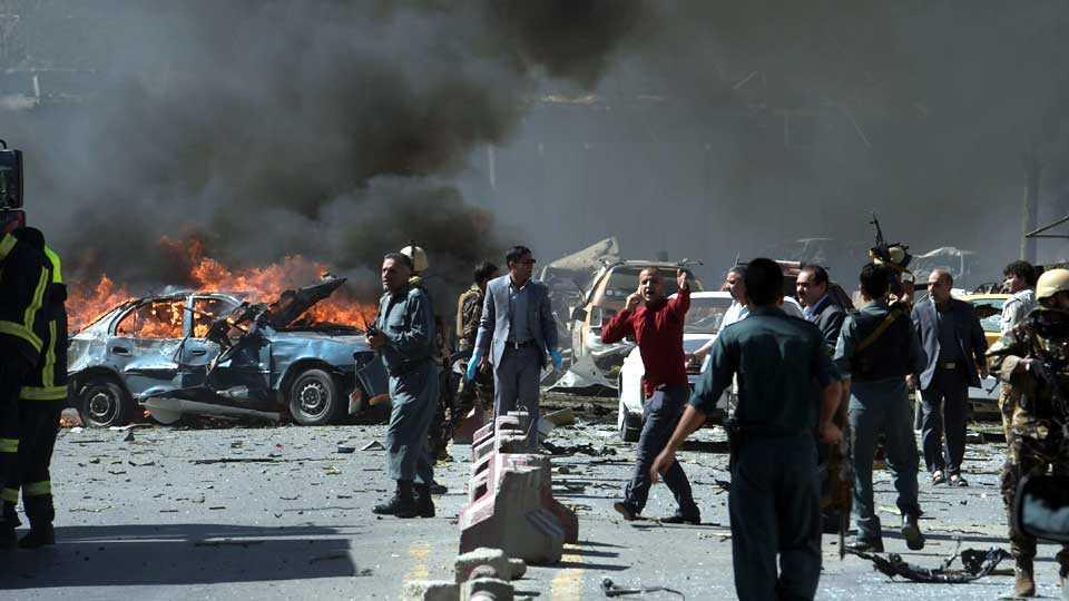 global news international news kabul blast marathi news terror news