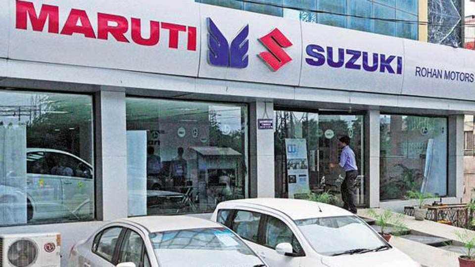 maruti suzuki shares 11%