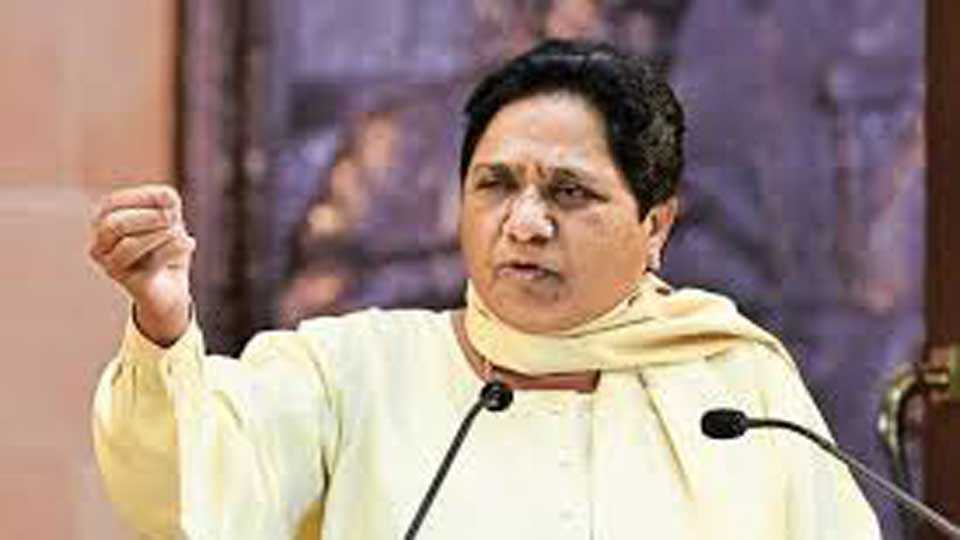 Mayawati demanded resignation by BJP ruled governors
