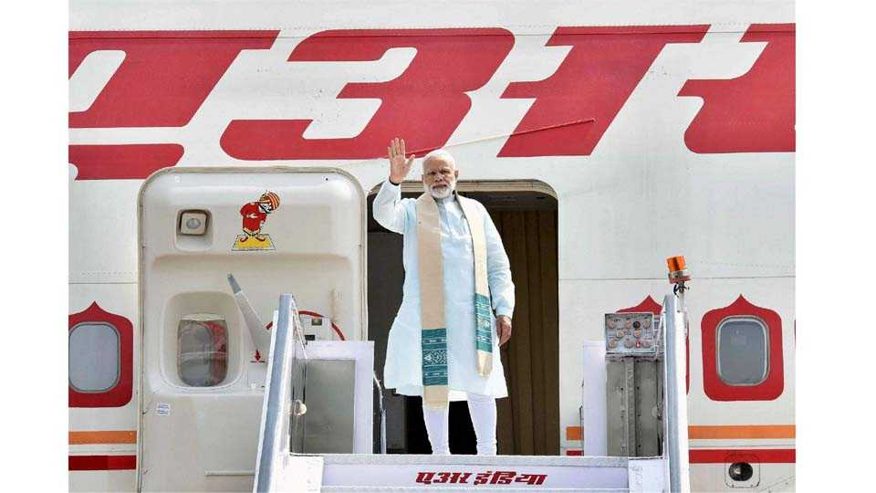 Rs 355 crore spent on Modis 41 foreign trips since becoming PM