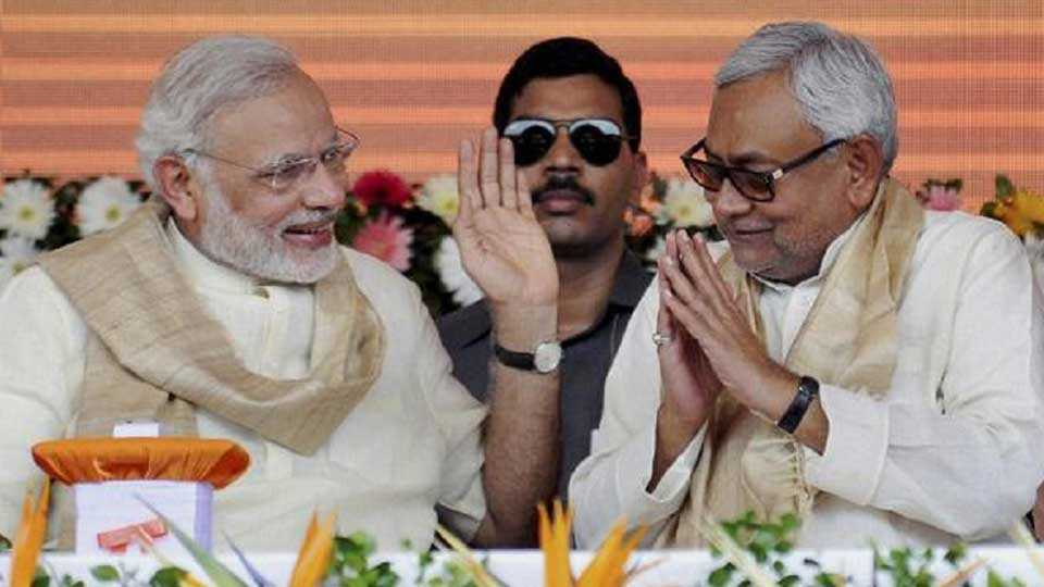 Narendra Modi and Nitishkumar