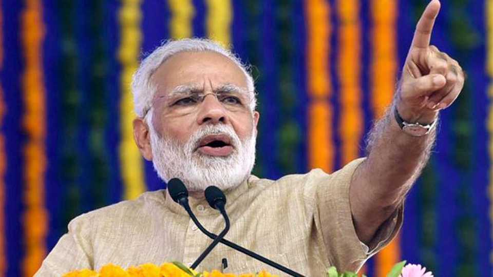 walking on the path shown by Dr Babasaheb Ambedkar says Prime Minister Narendra Modi