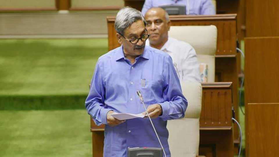 Jayaka project will be completed by 2019 say manohar parrikar