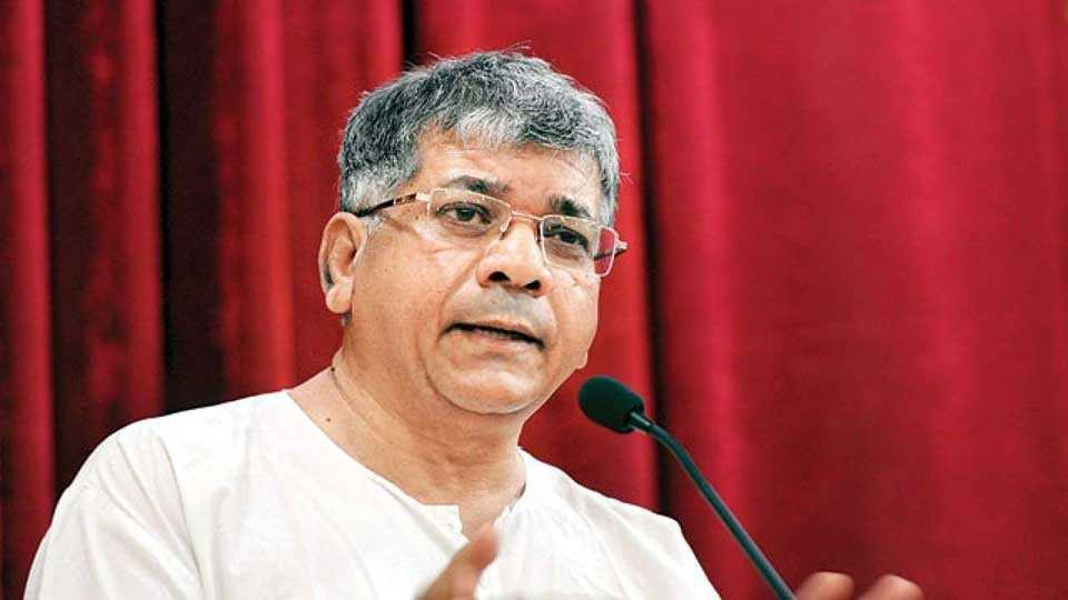 Do alliance when NCP not with Congress says Prakash Ambedkar