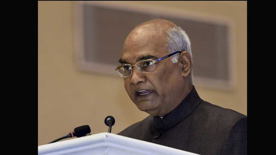 Kathua Incident Occurring In Any Part Of The Country Is Shameful Says President Ramnath Kovind