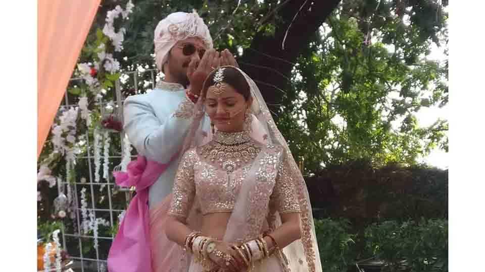 Actress Rubina Dilaik And Actor Abhinav Shuklas Wedding Photos