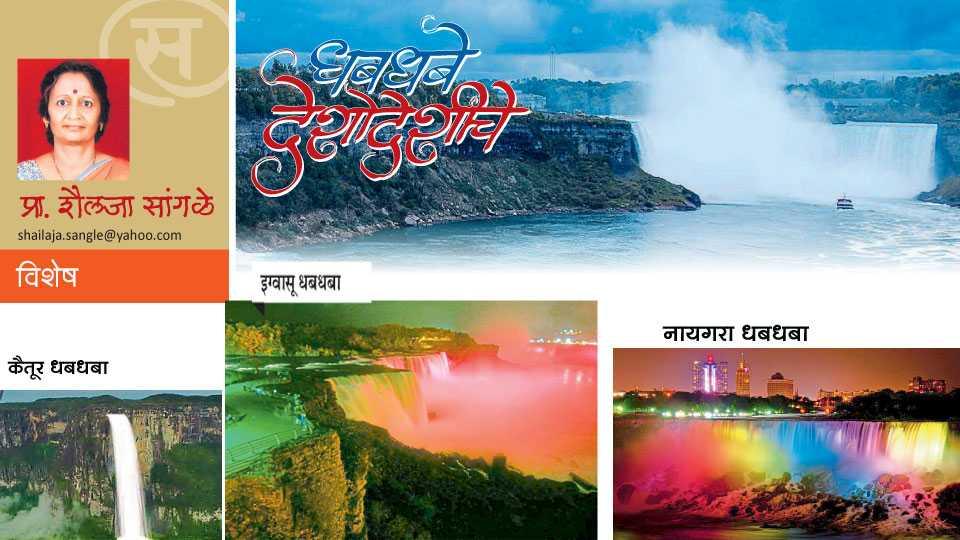 shailaja sangale writes about waterfall