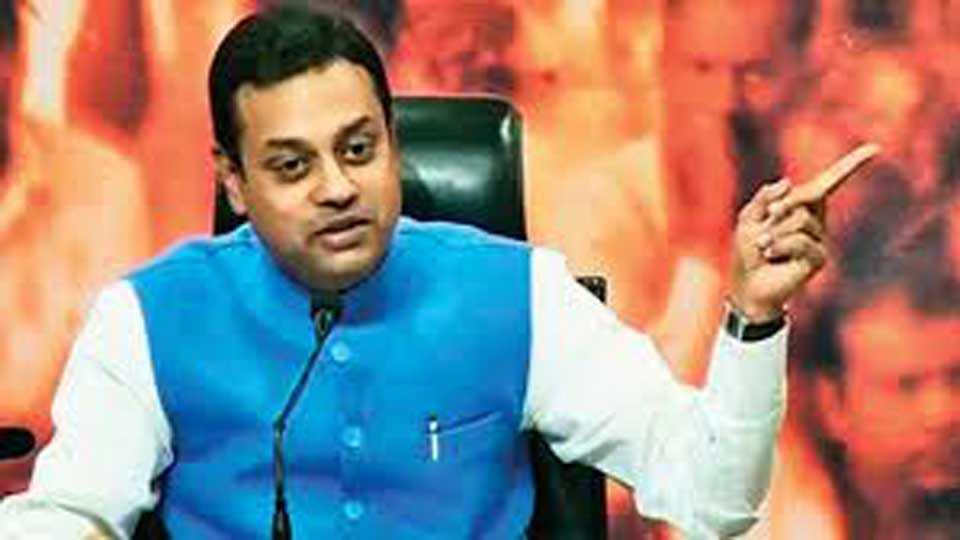BJP spokesperson Sambit Patra Criticizes Congress And Kumaraswamy