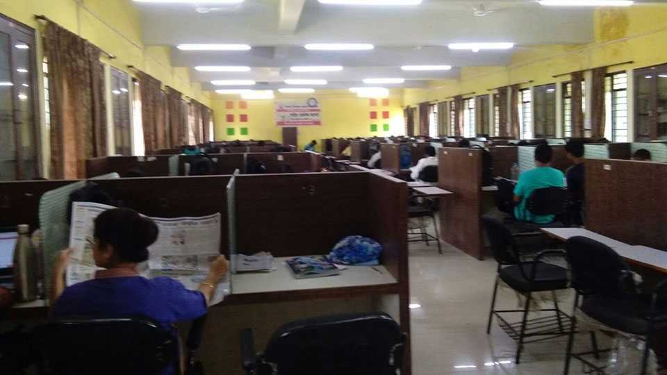 Competitive Exam Library Students Mismanagement