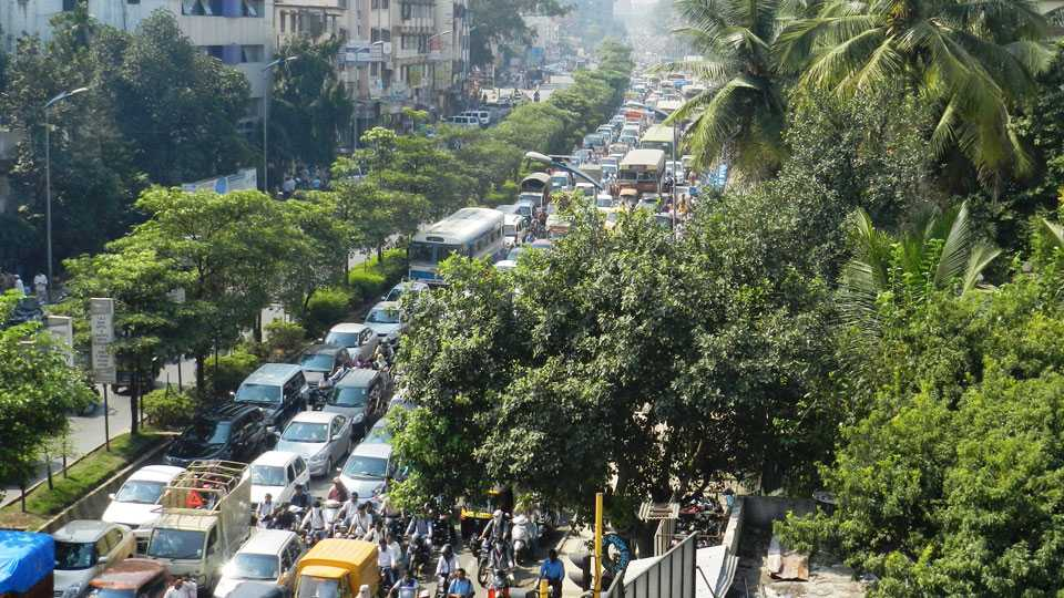 File photo of Traffic on Sinhgad Road