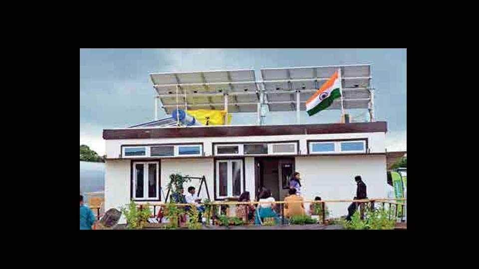 Solar ideal home!