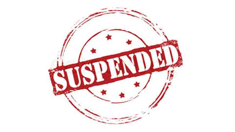 Suspended three lipik with two clerks at parbhani tahasil