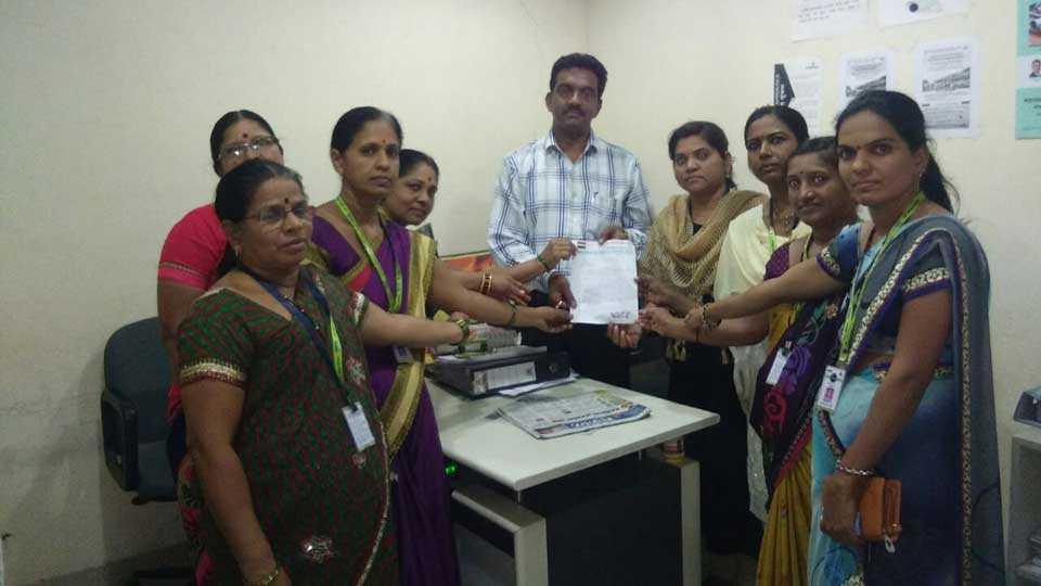 Clean the Sonargir Tanishka group demanded