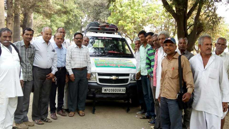 marathi news marathwada madhya pradesh farmer study tour